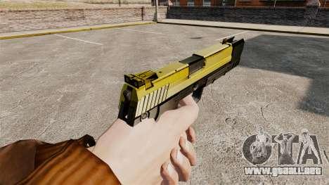 Pistola autocargable USP H & K v4 para GTA 4 segundos de pantalla