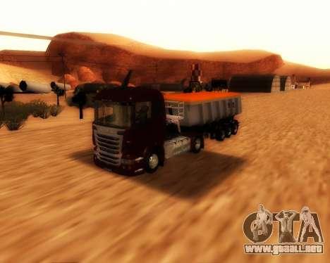 Remolque Schmitz Cargo Toro para la visión correcta GTA San Andreas
