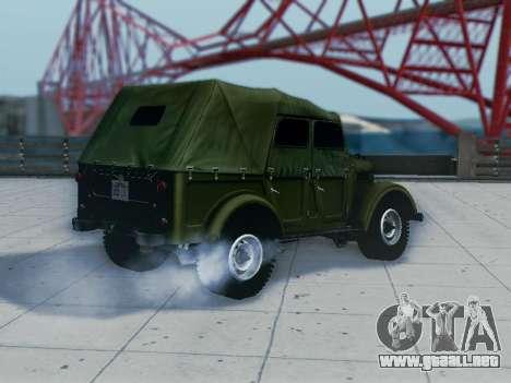 UAZ-69A para la visión correcta GTA San Andreas