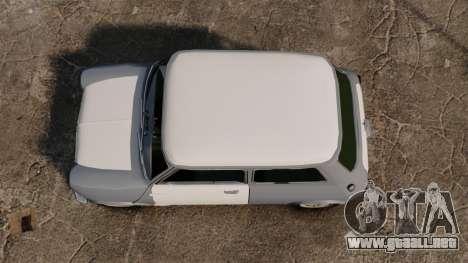 Mini Cooper S 1968 para GTA 4 visión correcta