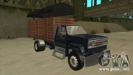 GMC C70 1980 para GTA San Andreas left