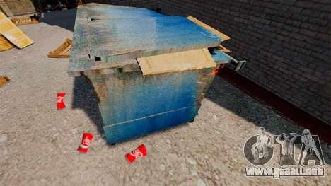 Banco arrugada Coca-Cola para GTA 4