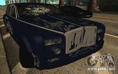 Rolls-Royce Phantom para el motor de GTA San Andreas