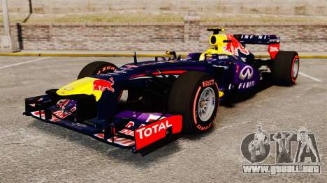 RB9 v6 auto, Red Bull para GTA 4