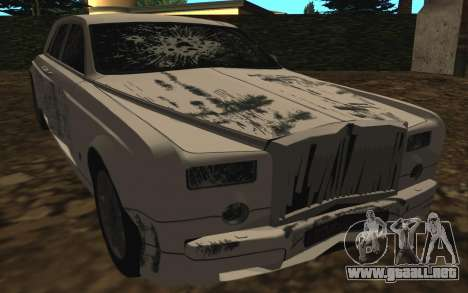 Rolls-Royce Phantom v2.0 para vista lateral GTA San Andreas