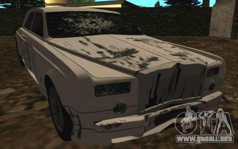 Rolls-Royce Phantom v2.0 para vista lateral GTA San Andreas