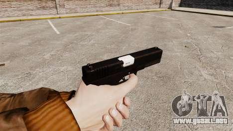 Glock 17 pistola autocargable v2 para GTA 4 segundos de pantalla