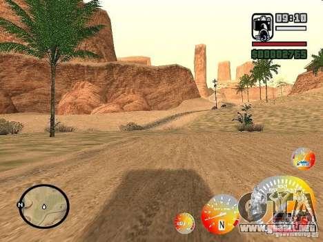 Conducir un 3.0 para GTA San Andreas segunda pantalla