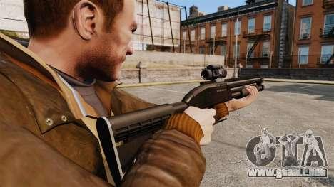 Escopeta táctica v1 para GTA 4 segundos de pantalla