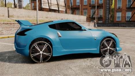 Nissan 370Z Tuning para GTA 4 left
