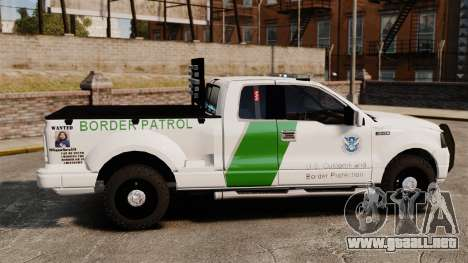 Ford F-150 v3.3 Border Patrol [ELS & EPM] v2 para GTA 4 left