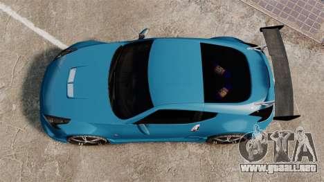 Nissan 370Z Tuning para GTA 4 visión correcta
