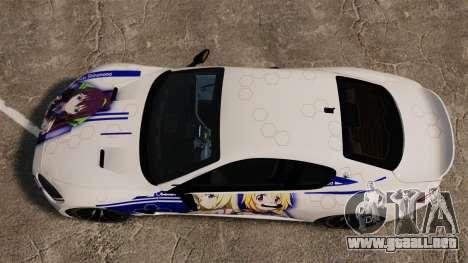 Maserati MC Stradale Infinite Stratos para GTA 4 visión correcta