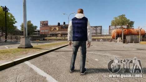 Ropa nueva para Hossan para GTA 4 segundos de pantalla