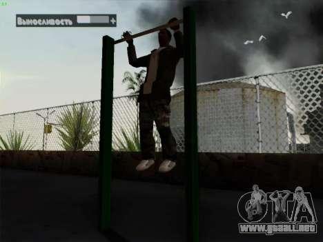 Barra horizontal para GTA San Andreas segunda pantalla