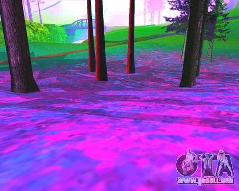 NarcomaniX Colormode para GTA San Andreas sexta pantalla