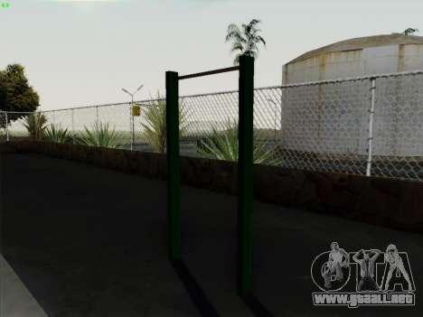 Barra horizontal para GTA San Andreas tercera pantalla