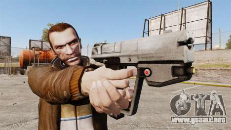 Pistola M6G del Magnum v2 para GTA 4 tercera pantalla
