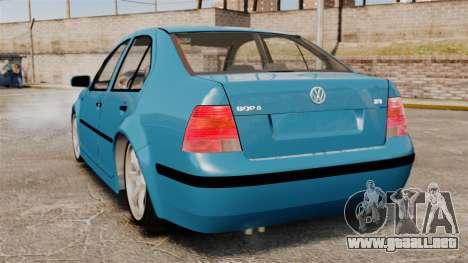 Volkswagen Bora para GTA 4 Vista posterior izquierda