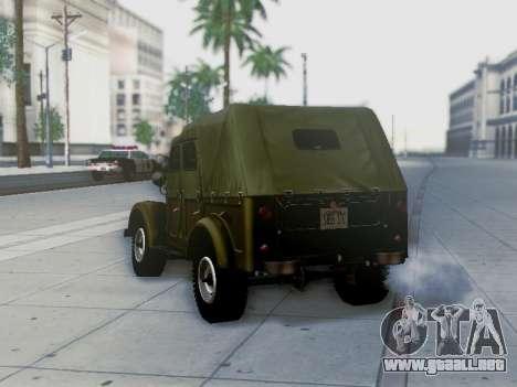 UAZ-69A para el motor de GTA San Andreas