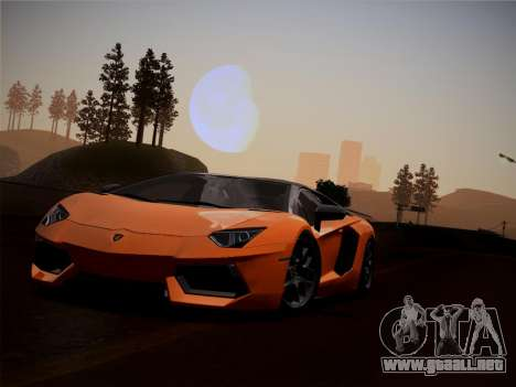Lamborghini Aventador LP760-2 para visión interna GTA San Andreas