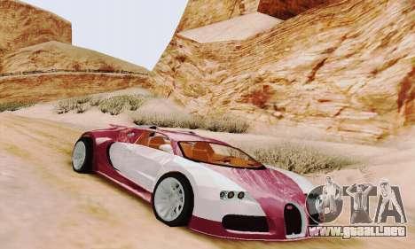 Bugatti Veyron 16.4 Concept para GTA San Andreas left