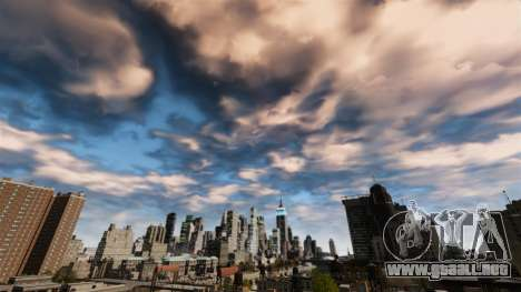 Nuevo día y la noche del cielo para GTA 4