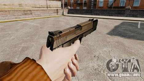 Pistola autocargable USP H & K v2 para GTA 4 segundos de pantalla