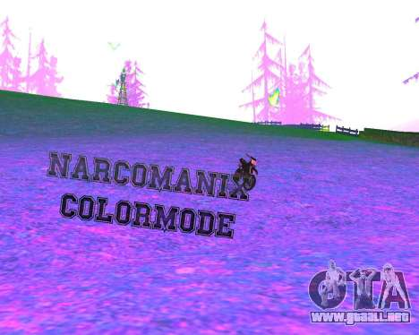 NarcomaniX Colormode para GTA San Andreas