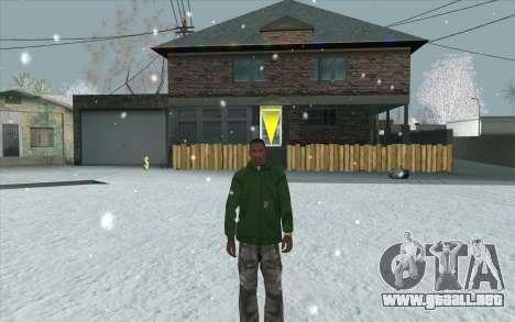 Snow San Andreas 2011 HQ - SA:MP 1.1 para GTA San Andreas décimo de pantalla