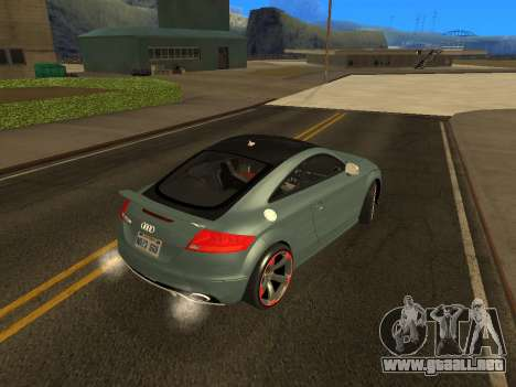 Audi TT RS Plus 2013 para GTA San Andreas left