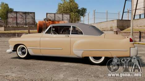 Cadillac Series 62 convertible 1949 [EPM] v4 para GTA 4 left