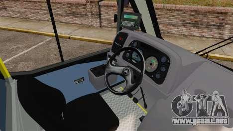 Mercedes-Benz Neobus Thunder LO-915 para GTA 4 vista desde abajo