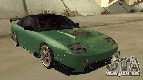 Nissan 180SX Uras GT para GTA San Andreas left
