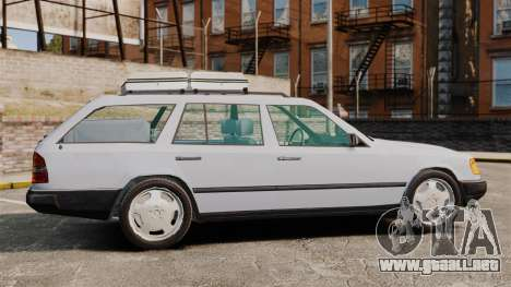 Mercedes-Benz W124 Wagon (S124) para GTA 4 left