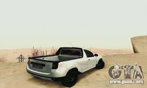 Dacia Duster Pick-up para GTA San Andreas left