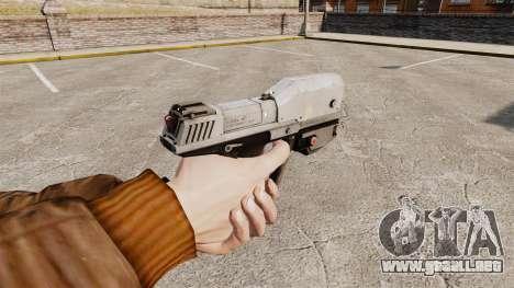 Pistola M6G de la v1 de Magnum para GTA 4 segundos de pantalla