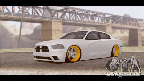 Dodge Charger SRT8 para GTA San Andreas left