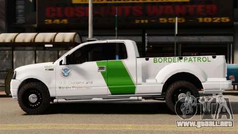Ford F-150 v3.3 Border Patrol [ELS & EPM] v3 para GTA 4 left
