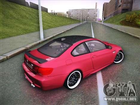 BMW M3 E92 Hamann 2012 para la visión correcta GTA San Andreas