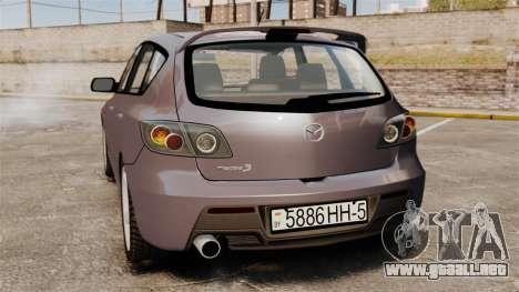 Mazda 3 Sport para GTA 4 visión correcta