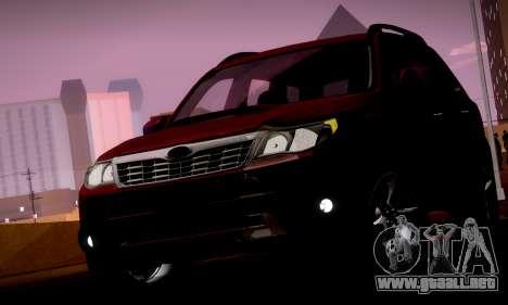 Subaru Forester XT 2008 v2.0 para las ruedas de GTA San Andreas