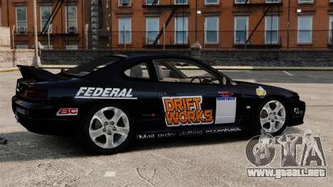 Nissan Silvia S15 v4 para GTA 4 left