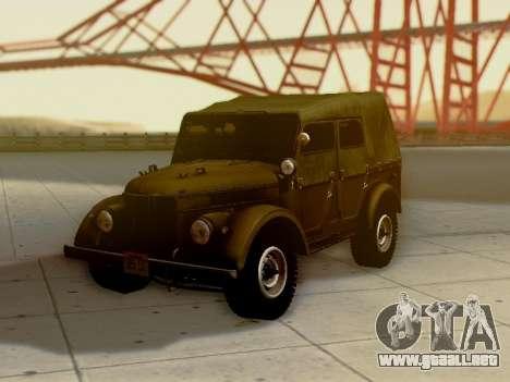 UAZ-69A para las ruedas de GTA San Andreas