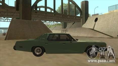 Dodge Monaco V10 para GTA San Andreas vista posterior izquierda