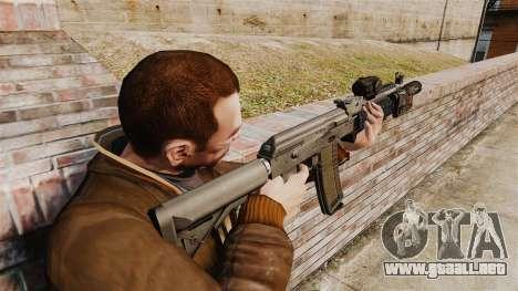MM118 automático AK para GTA 4 segundos de pantalla