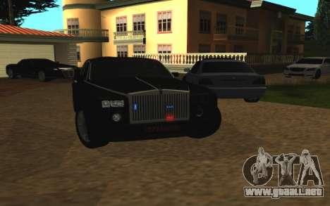 Rolls-Royce Phantom v2.0 para la visión correcta GTA San Andreas