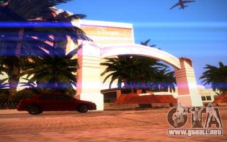 ENBS V3 para GTA San Andreas octavo de pantalla