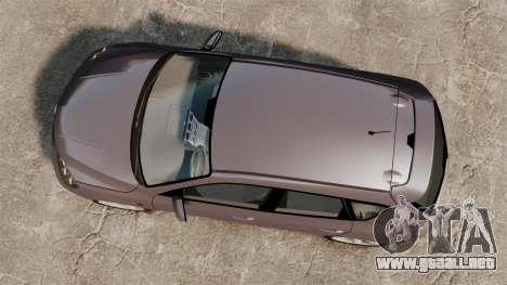 Mazda 3 Sport para GTA 4 vista interior