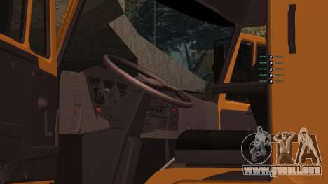 KAMAZ 260 Turbo para vista lateral GTA San Andreas